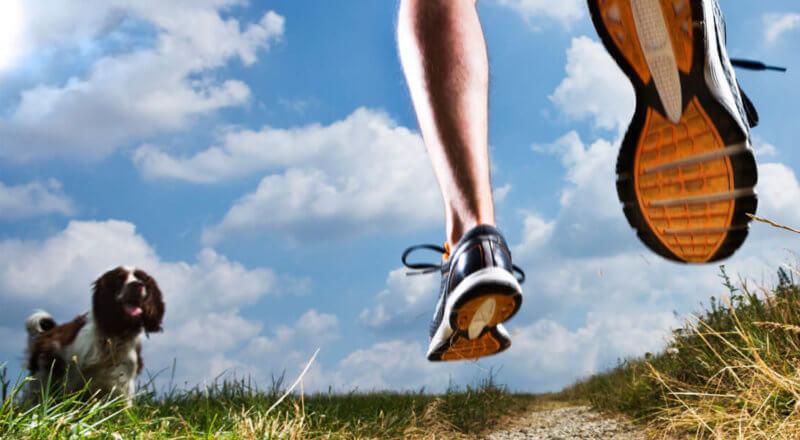walking running with plantar fasciitis