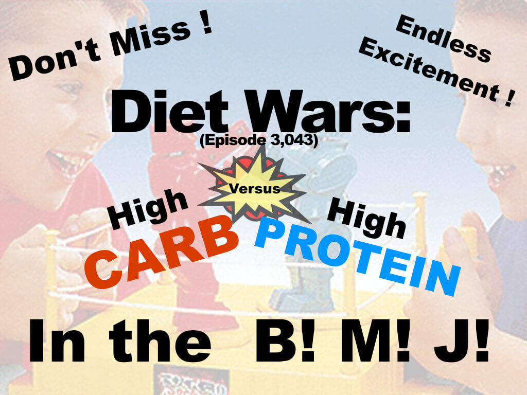 diet wars high carb v high protein