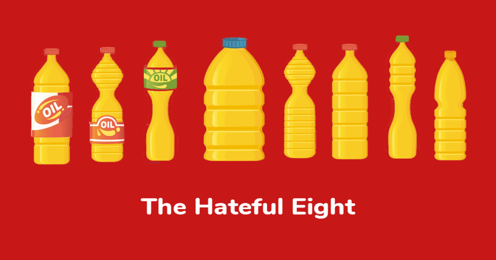 The Hateful Eight Seed Oils